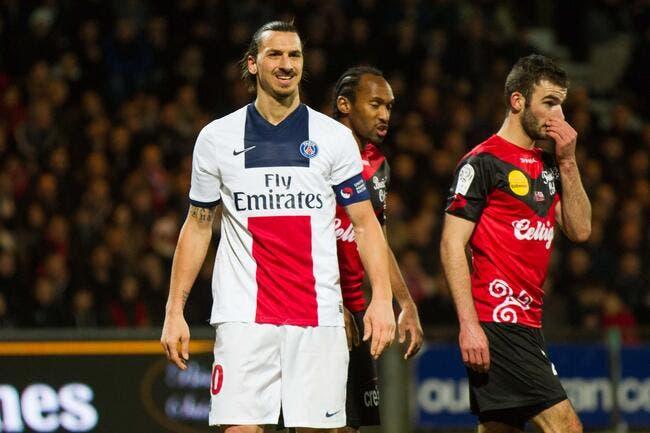 Guingamp n'a pas laissé un bon souvenir à Ibra et au PSG