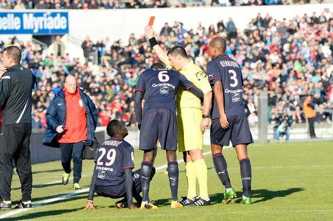 Un joueur de Bordeaux croit au complot des arbitres de L1