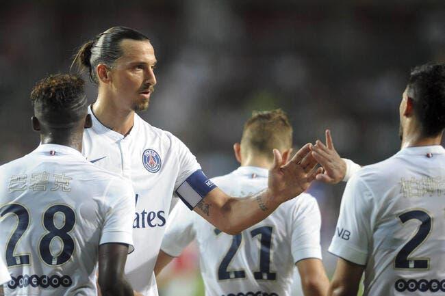 Ibrahimovic fâché par le show marketing du PSG