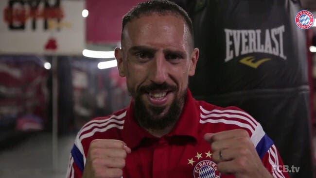 Vidéo : Franck Ribéry se la joue Rocky au Bayern Munich