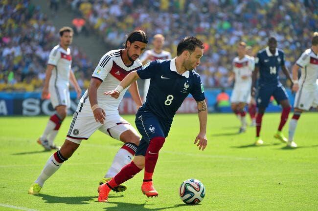Le grand rêve de Valbuena pour la France en 2016
