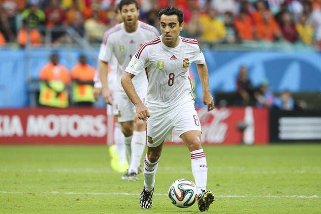 Xavi et l'Espagne, c'est fini