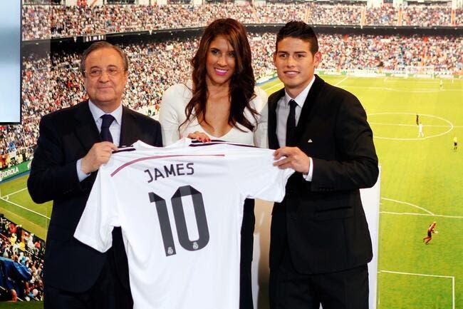 Les 415.000 maillots vendus de James Rodriguez c'est bidon