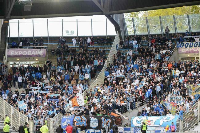 Des supporters de l'OM boycottent le déplacement à Bastia