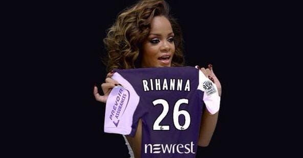 Rihanna, Cristiano Ronaldo, on s'amuse au TFC