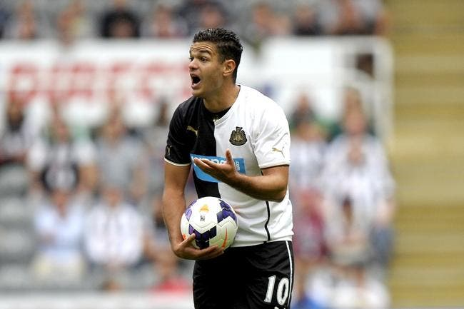 Ben Arfa tricard même avec la B de Newcastle
