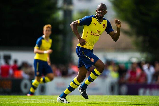 Diaby atteint la barre des 40 blessures à Arsenal !