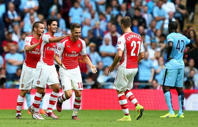Arsenal gifle Manchester City