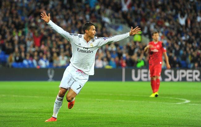 Cristiano Ronaldo offre une SuperCoupe d'Europe au Real Madrid