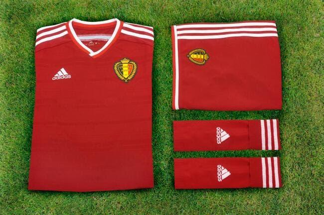 L'équipe de Belgique passe chez Adidas