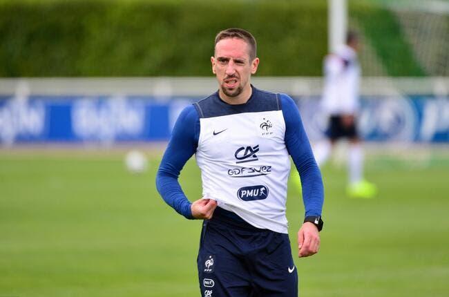 La FFF refuse de voir Ribéry loin des Bleus