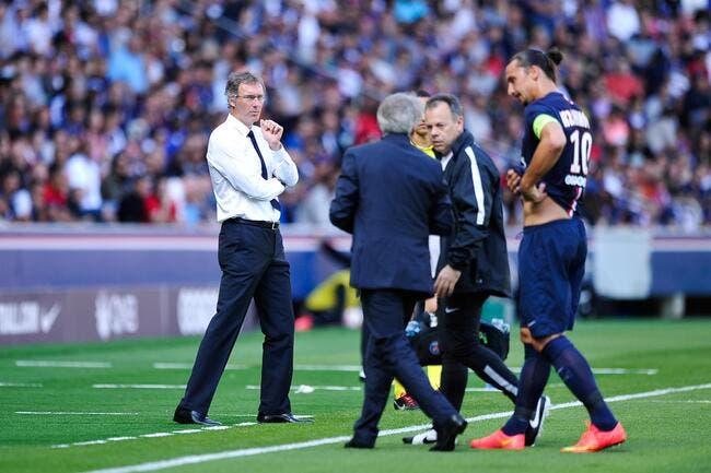Le PSG dévoile les vraies blessures de Motta, Ibrahimovic et VDW
