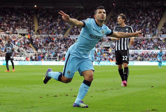 Newcastle - Man City : 0-2
