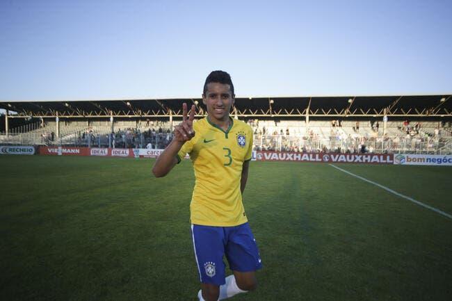 Le Brésil avec Marquinhos pour la Colombie et l'Equateur
