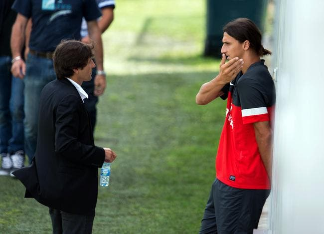 Leonardo veut amener Zlatan Ibrahimovic avec lui