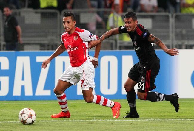Naples en danger, Arsenal accroché