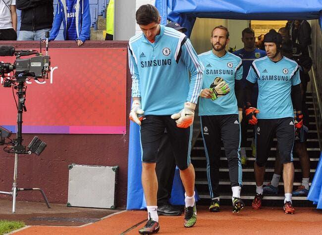Courtois veut que Cech reste à Chelsea, mais sur le banc