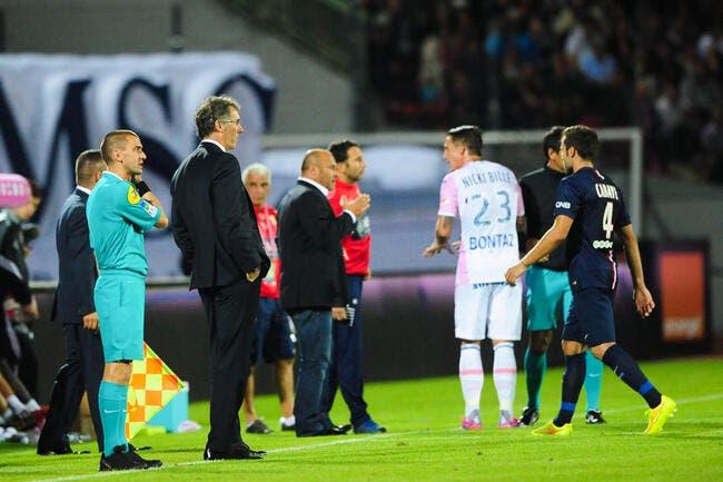 Blanc voit un point mérité pour le PSG et Evian