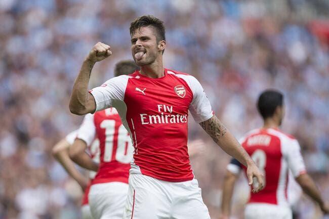 Giroud évite le pire pour Arsenal
