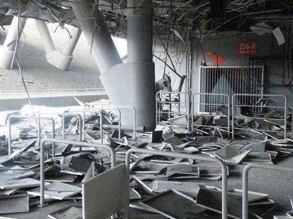 Le stade du Shakhtar Donetsk bombardé, deux morts en ville