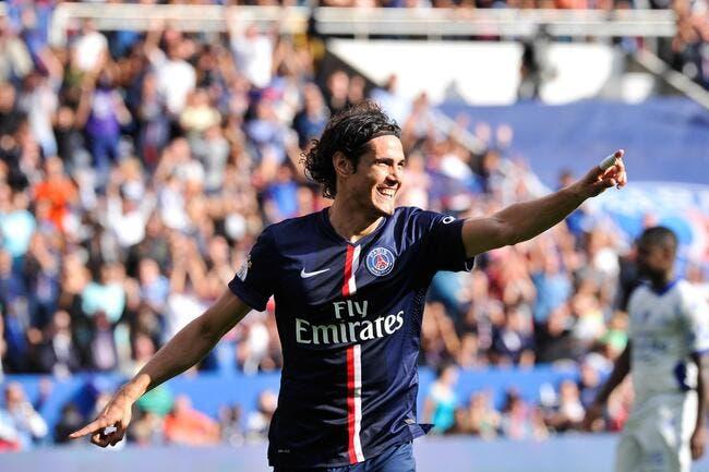 Le PSG et Arsenal, ça s'agite pour Cavani !