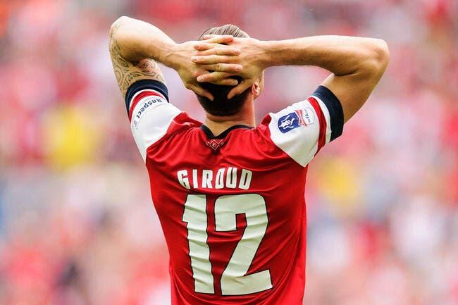 Fracture pour Giroud, il est forfait trois mois !