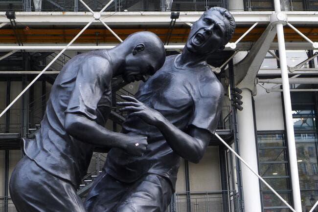Le patron du Stade Rennais s'offre la statue de Zidane