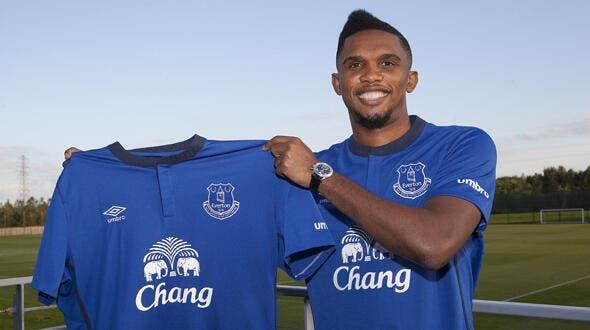 Officiel : Eto'o signe à Everton pour deux ans