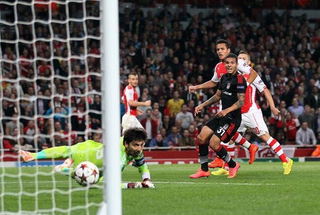 Arsenal respire, Naples s'étouffe