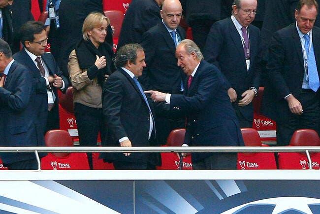 La FIFA, « ce n'est pas le moment » pour Platini