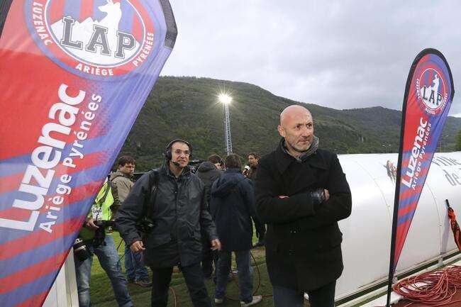 La LFP ne fera pas craquer Luzenac prévient Barthez
