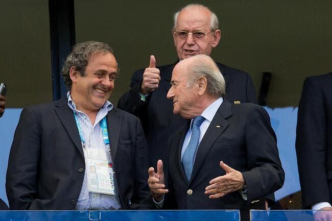 Platini renonce à la présidence de la FIFA