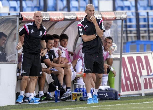 Une plainte contre Zidane au Real Madrid !