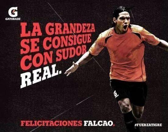Falcao oublié contre Lille, et annoncé au Real par un sponsor