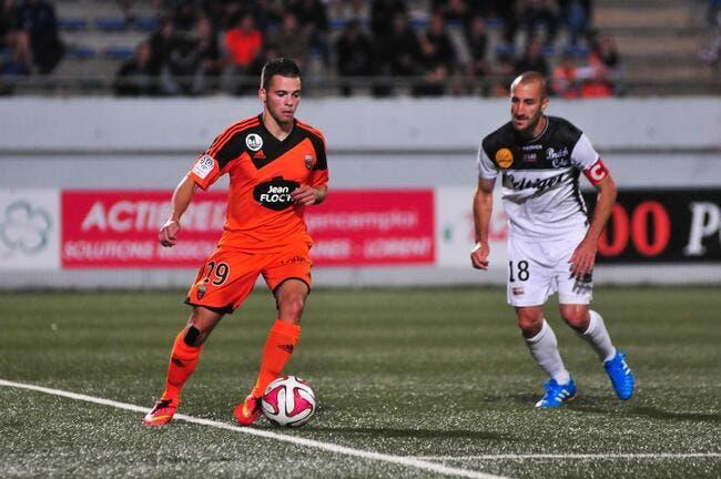 Lorient a le 4-0 modeste
