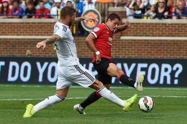 Accord trouvé entre le Real Madrid et Man Utd pour Chicharito ?