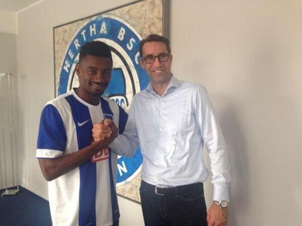 Kalou quitte Lille et signe pour Berlin