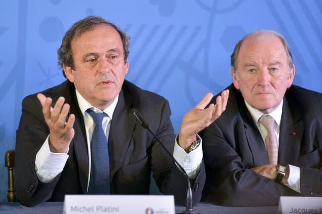 Platini énervé par une sale rumeur de corruption