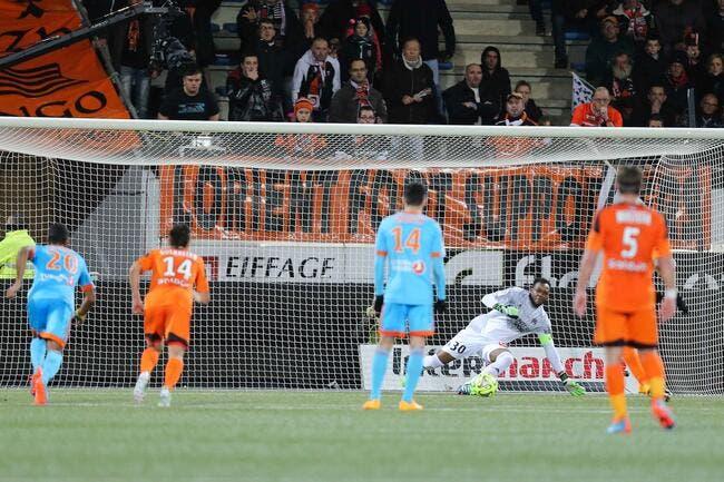 Lorient avoue «avoir eu de la réussite» contre l'OM
