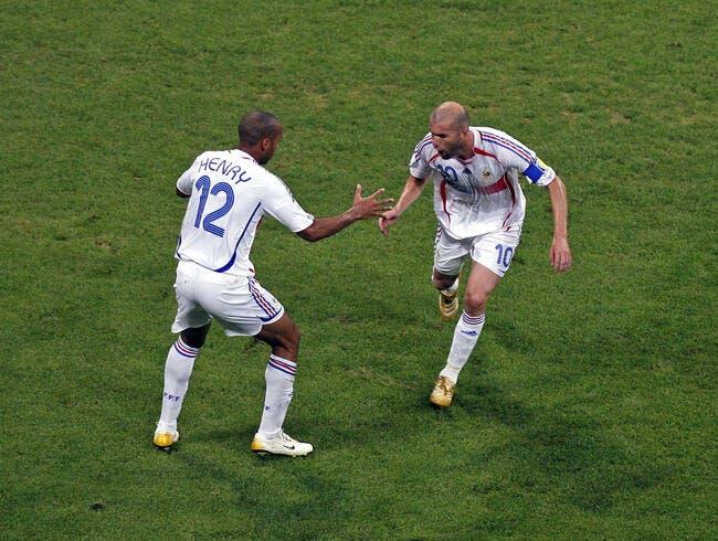 Zidane partagé sur un retour de Thierry Henry chez les Bleus