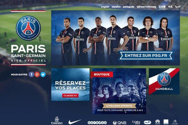Le PSG domine l'OL, le TFC et l'OM sur internet et apprécie