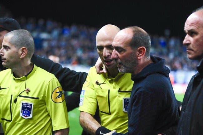 L'arbitre de Bastia-Evian incorrect ? Impossible selon son patron !