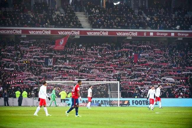 Les supporters de Lille boudent le derby «parisien» contre Lens