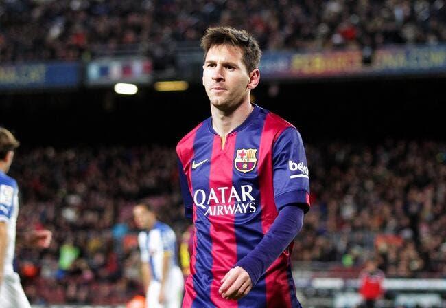 Lionel Messi énervé par un contrôle antidopage