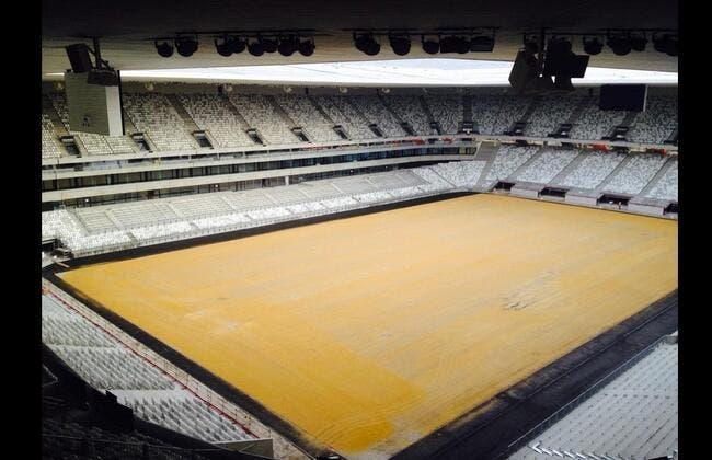 Photo : Le nouveau stade de Bordeaux vu de l'intérieur