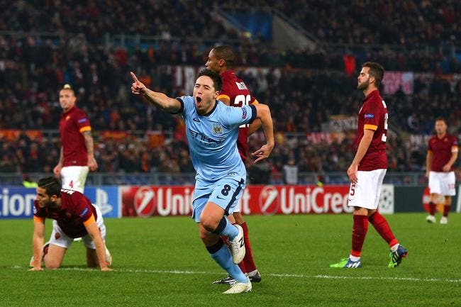 AS Rome - Manchester City : 0-2