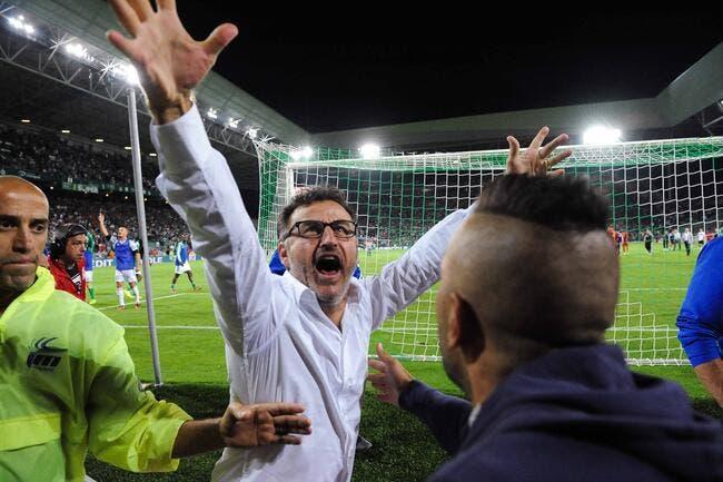 La réaction très classe du coach de l'ASSE face à l'Inter