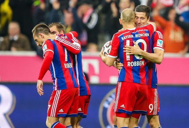 Augsburg - Bayern Munich : 0-4