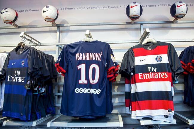 Le PSG s'offre une boutique énorme à Paris