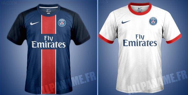 Les maillots du PSG 2015-2016 dévoilés en partie ?